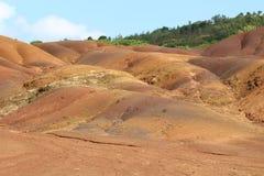 Tierra coloreada Fotografía de archivo libre de regalías