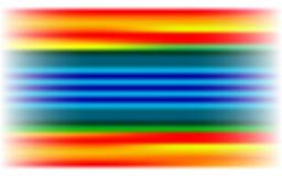 Tierra coloreada Foto de archivo