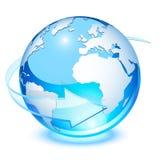 Tierra cristalina Imágenes de archivo libres de regalías