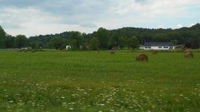 Tierra de cultivo en Ohio imagen de archivo libre de regalías