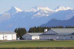 Tierra de cultivo occidental de Washington fotografía de archivo