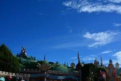 Tierra de Disney Imágenes de archivo libres de regalías