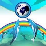 Tierra de Eco Imagenes de archivo