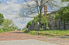 Tierra de entierro de la colina de Copp en Boston, Massachusetts Foto de archivo