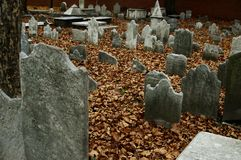 Tierra de entierro de la iglesia de Cristo Fotografía de archivo libre de regalías