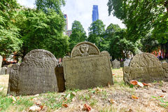 Tierra de entierro del granero - Boston, Massachusetts Imagen de archivo
