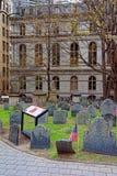 Tierra de entierro del granero en la calle de Tremont imágenes de archivo libres de regalías