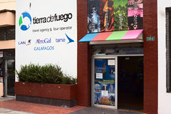 Tierra de Fuego Travel Agency e operador turístico em Quito, Equador Fotos de Stock