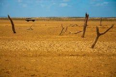 Tierra de Guajira Imágenes de archivo libres de regalías