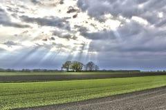 Tierra de la agricultura Imágenes de archivo libres de regalías