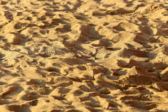 Tierra de la arena Imagenes de archivo