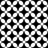 Tierra de la parte posterior del blanco del dezine del negro de Semless Triángulos, extracto Imagen de archivo