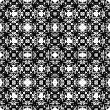 Tierra de la parte posterior del blanco del dezine del negro de Semless Triángulos, extracto Imagenes de archivo