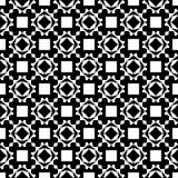 Tierra de la parte posterior del blanco del dezine del negro de Semless Triángulos, extracto Foto de archivo libre de regalías