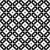 Tierra de la parte posterior del blanco del dezine del negro de Semless Triángulos, extracto Imagen de archivo libre de regalías