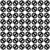 Tierra de la parte posterior del blanco del dezine del negro de Semless Triángulos, extracto Fotografía de archivo libre de regalías