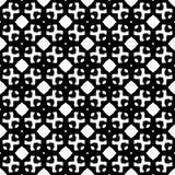 Tierra de la parte posterior del blanco del dezine del negro de Semless Triángulos, extracto Foto de archivo