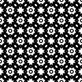 Tierra de la parte posterior del blanco del dezine del negro de Semless Triángulos, extracto Fotos de archivo libres de regalías