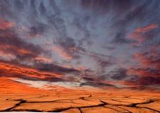 Tierra de la sequía Foto de archivo