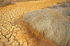Tierra de la sequía, cambio de clima, verano caliente imagenes de archivo