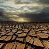 Tierra de la sequía Fotografía de archivo libre de regalías