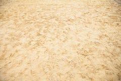 Tierra de Sandy llenada de huella Foto de archivo