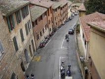 Tierra de Siena, Italia Fotografía de archivo libre de regalías