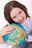 Tierra del amor - es nuestro hogar Imagen de archivo libre de regalías
