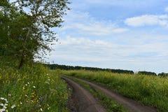 Tierra del camino Foto de archivo libre de regalías