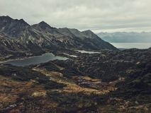Tierra del Fuego. Ladacape of an argwntinian national park Royalty Free Stock Images