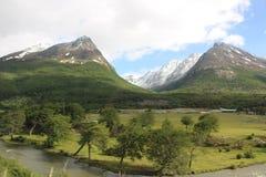 Tierra Del Fuego - Landscape. Visiting Tierra Del Fuego national Park, in Ushuaia Argentina Stock Images