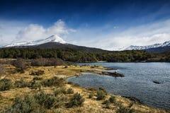 Tierra del Fuego National Park, Argentina. A view of the Tierra del Fuego National Park in Ushuaia, Argentina Royalty Free Stock Photo