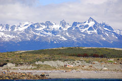 Tierra del Fuego National Park. Is a national park on the Argentine part of the island of Tierra del Fuego in the ecoregion of Patagonic Forest and Altos Andes Royalty Free Stock Images