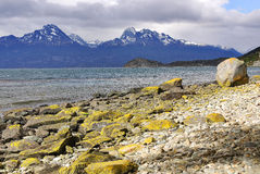 Tierra del Fuego National Park. Is a national park on the Argentine part of the island of Tierra del Fuego in the ecoregion of Patagonic Forest and Altos Andes Stock Photo