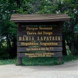 Tierra del Fuego National Park, la Argentina Imagenes de archivo