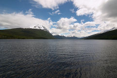 Tierra del Fuego National Park Lake. Tierra del Fuego National Park Royalty Free Stock Photography