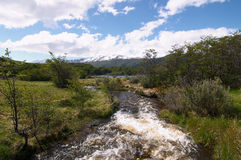 Tierra del Fuego National Park River. Tierra del Fuego National Park Royalty Free Stock Photos