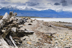 Tierra del Fuego, Patagonië, landschap Stock Fotografie