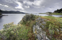 Tierra del Fuego, Ushuaia. Argentinië Stock Afbeeldingen