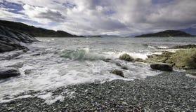 Tierra del Fuego, Ushuaia. l'Argentine Photo libre de droits