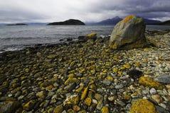Tierra del Fuego, Ushuaia. La Argentina Foto de archivo