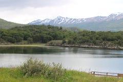 Tierra Del Fuego. Visiting Tierra Del Fuego national Park, in Ushuaia Argentina Stock Photos
