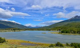 Tierra- del FuegoNationalpark Stockbild
