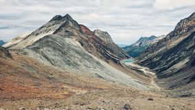 Tierra del Fugeo. Mountains, Passo Valdivieso. Ushuaia - Argentina. Trekking in Patagonia Royalty Free Stock Photography