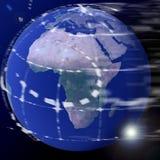 Tierra del globo del mundo Fotos de archivo libres de regalías