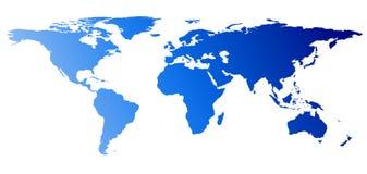 Tierra del globo del mundo Fotos de archivo
