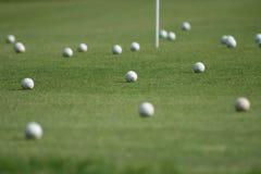 Tierra del golf Foto de archivo libre de regalías
