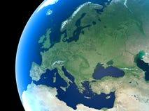 Tierra del planeta Imagen de archivo libre de regalías