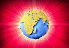 Tierra del planeta Imágenes de archivo libres de regalías