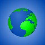 Tierra del planeta - Día de la Tierra Imagen de archivo libre de regalías